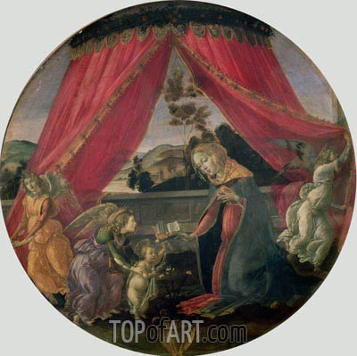 Botticelli | The Madonna del Padiglione, 1493