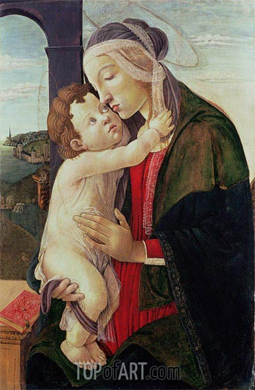 Botticelli | The Virgin and Child,