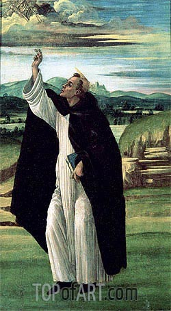 Botticelli | Saint Dominic, c.1498/05
