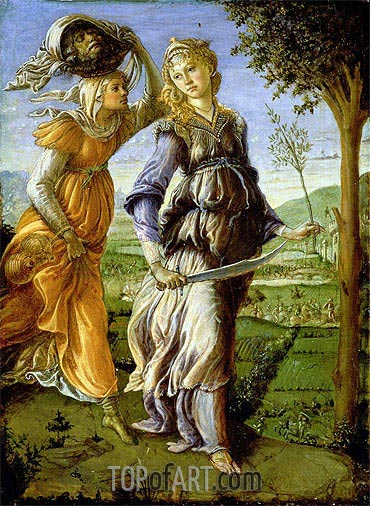 The Return of Judith, 1467 | Botticelli| Painting Reproduction