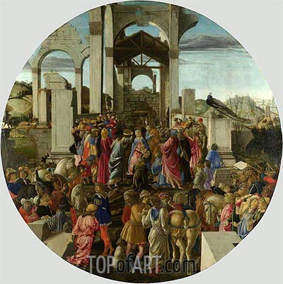 Botticelli | Adoration of the Kings, c.1470/75