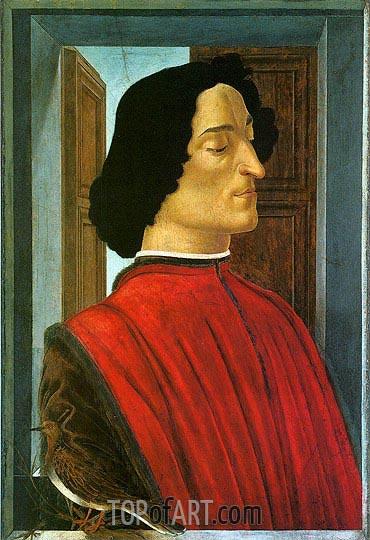 Botticelli | Giuliano de Medici, c.1480