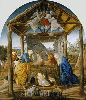 Botticelli | The Nativity, c.1475