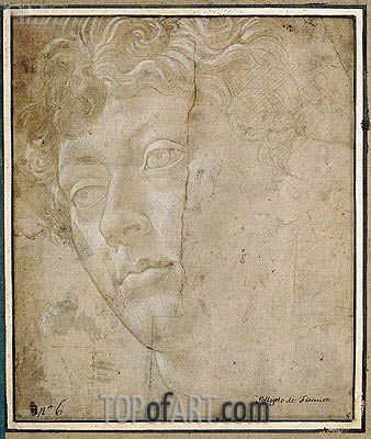Botticelli | Head of an Angel, Undated