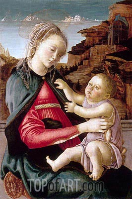 Botticelli | Madonna Guidi, c.1465/70