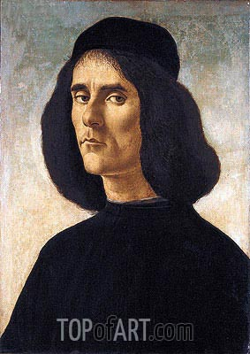 Botticelli | Portrait of Michael Marullus Tarchaniota, Undated
