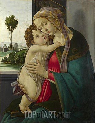 The Virgin and Child, c.1475/00 | Botticelli| Painting Reproduction