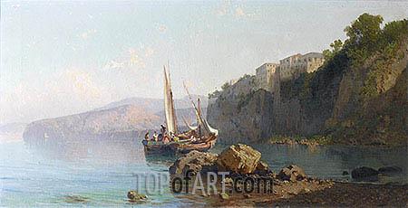 Alessandro la Volpe | Passage of Roseto, Sorrento, 1878