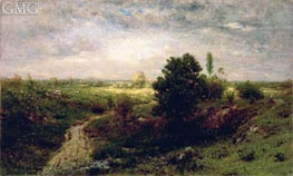Keene Valley, c.1884/86 by Alexander Wyant | Painting Reproduction