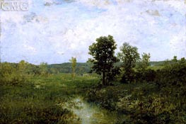 Summer Landscape, c.1889 by Alexander Wyant | Painting Reproduction