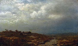 Irish Landscape, 1865 by Alexander Wyant | Painting Reproduction