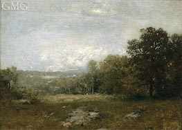 A Gray Day, c.1880 by Alexander Wyant | Painting Reproduction