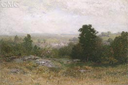 Landscape near Arkville, c.1889 by Alexander Wyant | Painting Reproduction