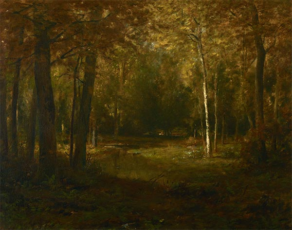 Alexander Wyant | Glade in Autumn, undated