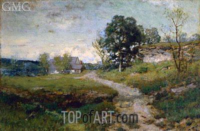 Alexander Wyant | Arkville Landscape, 1889