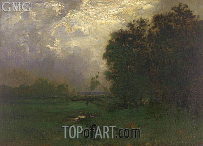 Landscape, undated | Alexander Wyant | Painting Reproduction