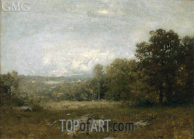 A Gray Day, c.1880 | Alexander Wyant | Painting Reproduction