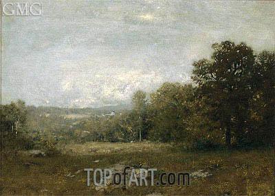 Alexander Wyant | A Gray Day, c.1880