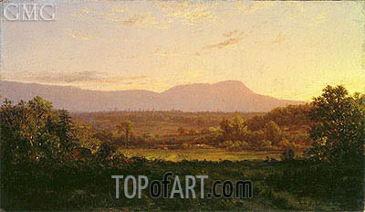 Peaceful Valley, c.1872 | Alexander Wyant | Painting Reproduction