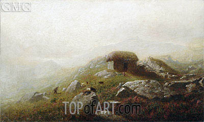 Misty Morning Near the Lakes of Killarney, undated | Alexander Wyant | Painting Reproduction