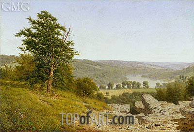 Landscape, 1865 | Alexander Wyant | Painting Reproduction