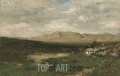Alexander Wyant | View in County Kerry, c.1875