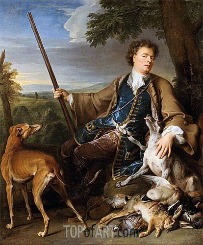 Alexandre-François Desportes | Self-Portrait als Jäger, 1699