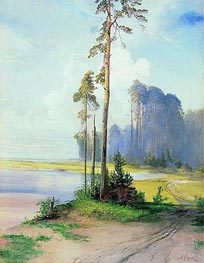 Summer Landscape. Pines | Alexey Savrasov | outdated