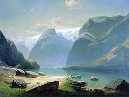 Lake in Mountains of Switzerland | Alexey Savrasov | outdated