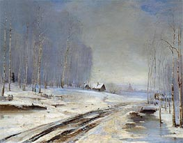 Sea of Mud (Rasputitsa) | Alexey Savrasov | Painting Reproduction