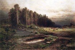 Losiny Island in Sokolnik | Alexey Savrasov | Gemälde Reproduktion