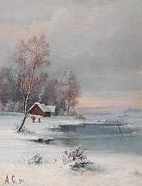 Coast during Winter | Alexey Savrasov | veraltet