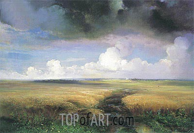 Rye, 1881 | Alexey Savrasov| Painting Reproduction