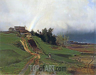 Rainbow, 1875 | Alexey Savrasov| Painting Reproduction