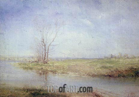 Alexey Savrasov | Spring, c.1870