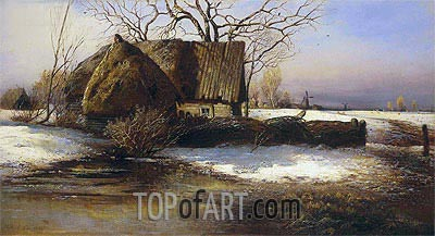 Soon Spring, 1874 | Alexey Savrasov | Painting Reproduction