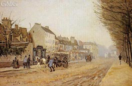 Boulevard Heloise, Argenteuil | Alfred Sisley | Painting Reproduction