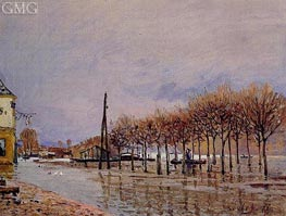The Flood at Port-Marly | Alfred Sisley | outdated