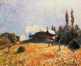 The Station at Sevres, c.1879 by Alfred Sisley | Painting Reproduction