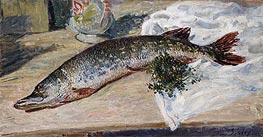 The Pike, 1888 by Alfred Sisley | Painting Reproduction