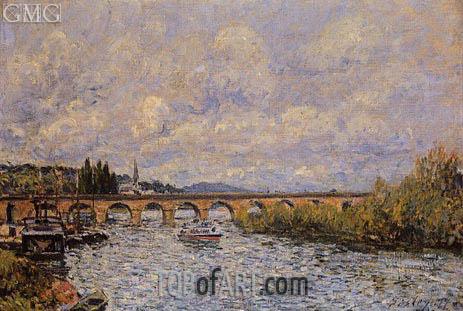 Alfred Sisley | The Sevres Bridge, 1877