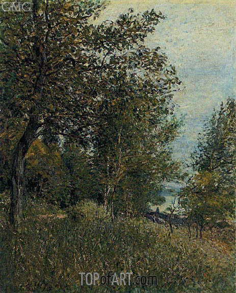 Alfred Sisley | A Corner of the Roches-Courtaut Woods, June, 1884
