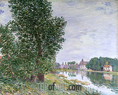 Alfred Sisley | At Moret-sur-Loing, 1892