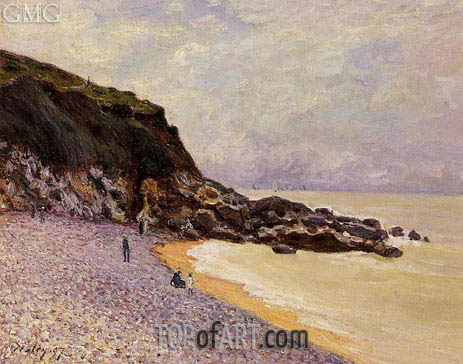 Lady's Cove before the Storm, 1897 | Alfred Sisley | Painting Reproduction