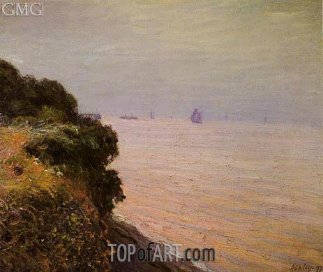 Alfred Sisley | Landland Bay, England, Morning, 1897