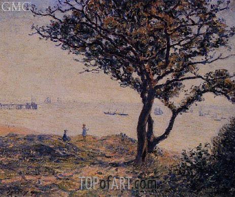 Alfred Sisley | A Cardiff Shipping Lane, 1897