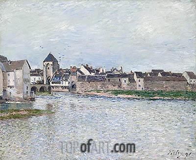Alfred Sisley | Bridge at Moret-sur-Loing, 1891