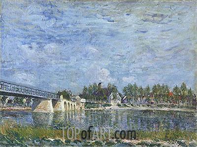 Alfred Sisley | The Bridge at Saint-Mammes, 1881