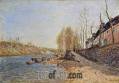 Alfred Sisley | La Croix-Blanche at Saint-Mammès, 1884