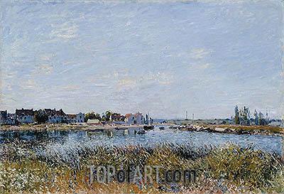 Alfred Sisley | Saint-Mammès: Morning, 1881